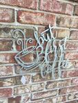 But First Coffee Metal Sign, Kitchen Décor. FREE SHIPPING - Artisticspacedecor