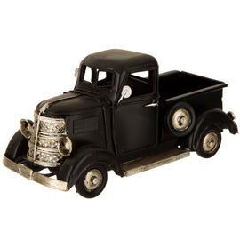 Black Metal Truck, nostalgic focal point! Accent. VINTAGE LOOK HOME DECOR