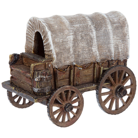 Detailed Covered Wagon Country Style Home Decor. FREE SHIPPING - Artisticspacedecor