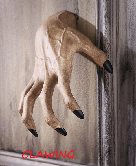 Creepy Scary Hand Wall Hangers. CLAWING OR GRABBING. FREE SHIPPING - Artisticspacedecor