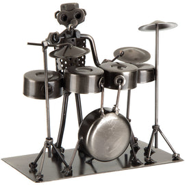 Drummer Metal Nuts and Bolts Musician Figurine Music Gift Man Cave Office Decor. FREE SHIPPING - Artisticspacedecor