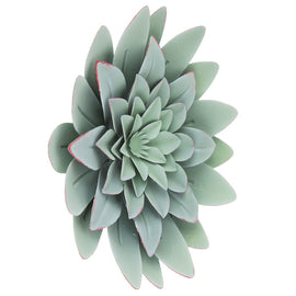 Green Succulent Metal Wall Decor. FREE SHIPPING - Artisticspacedecor