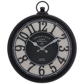 Bristol Wall Clock. Undeniable touch of style!. FREE SHIPPING - Artisticspacedecor