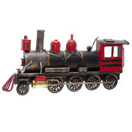 Train Engine Metal Wall Decor - Artisticspacedecor