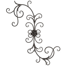 Scroll & Flourish Metal Wall Decor - Artisticspacedecor