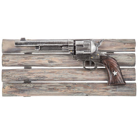 Decorative Western Pistol Wall Decor. FREE SHIPPING - Artisticspacedecor