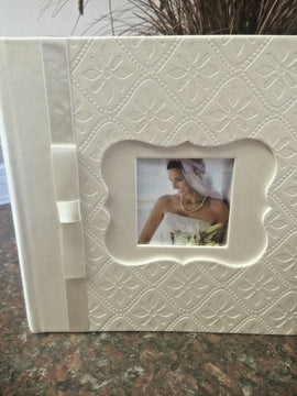 "Photo Album,Leatherette,Holds 4"" X 6"" Hold 160. FREE SHIPPING - Artisticspacedecor"