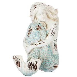 Sitting Mermaid Beautiful indoor outdoor figurine - Artisticspacedecor