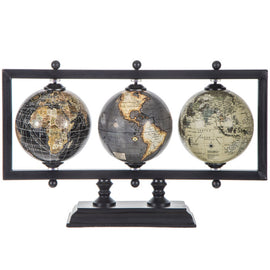 Globe Trio Decor - Artisticspacedecor