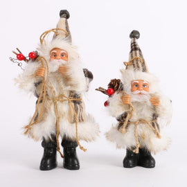 Santa Claus Doll Toy Christmas Tree Ornaments Decoration - Artisticspacedecor