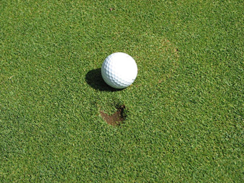 How To CORRECTLY Repair Ball Marks On Greens!