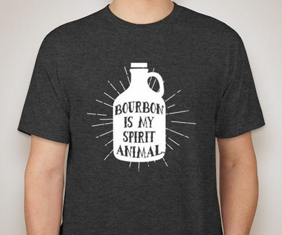 Bourbon Is My Spirit Animal T-Shirt