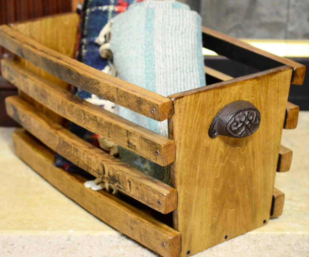 Bourbon Barrel Crate