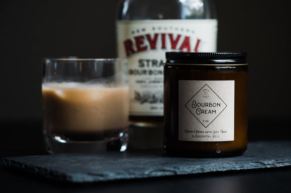 Bourbon Cream Cocktail Candle