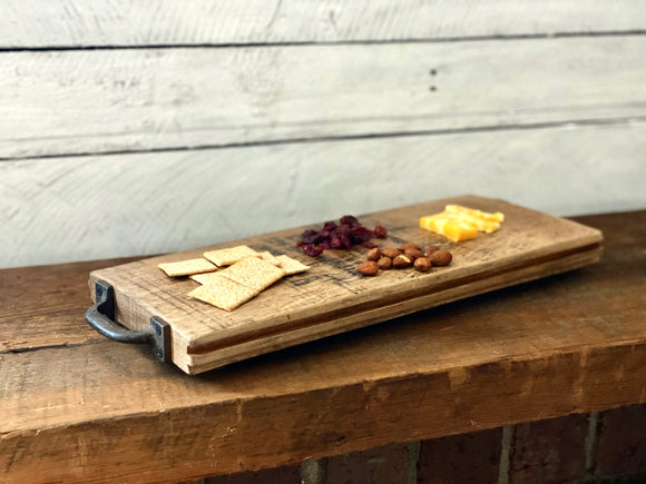 Bourbon Barrel Charcuterie Board
