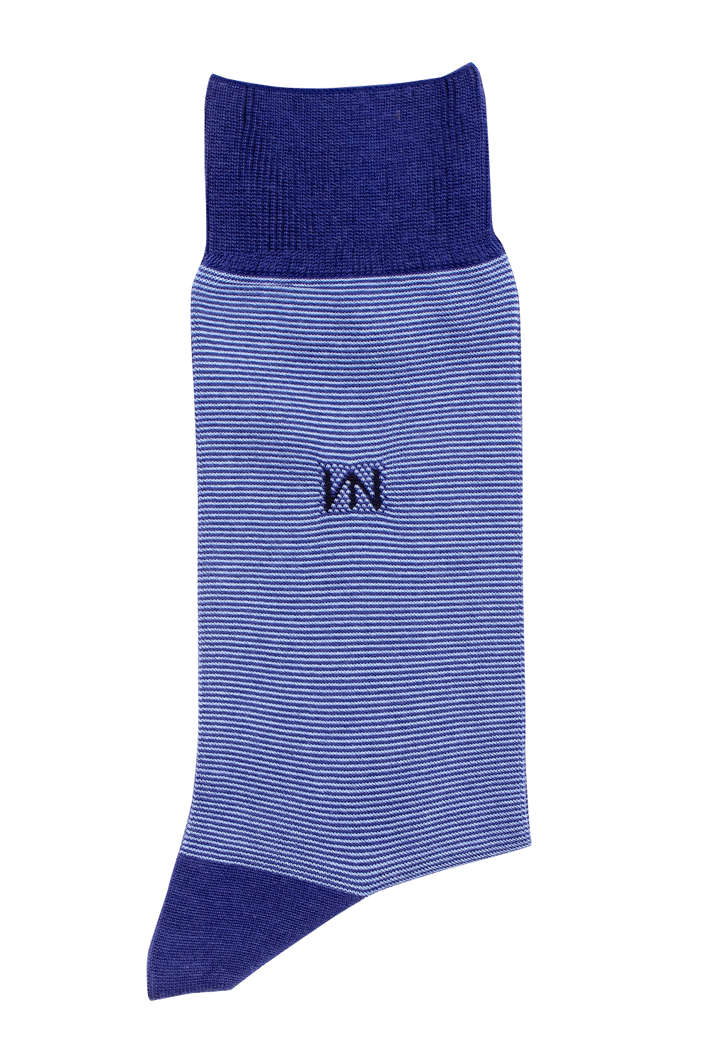 Egyptian Cotton Socks - Blue Stripe