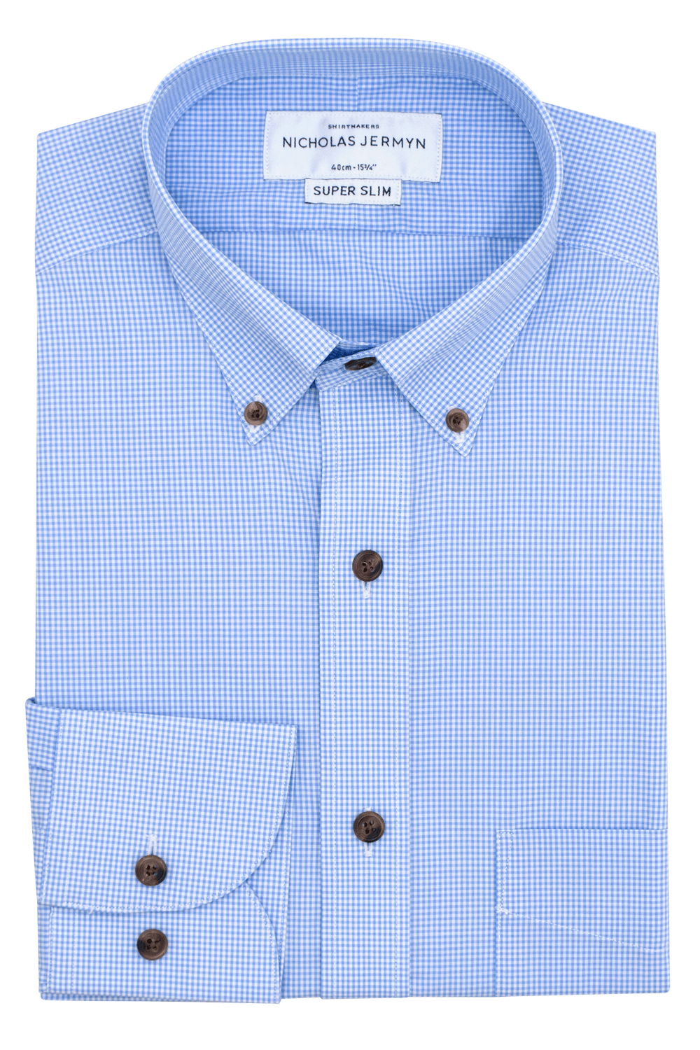 Square Gingham Blue