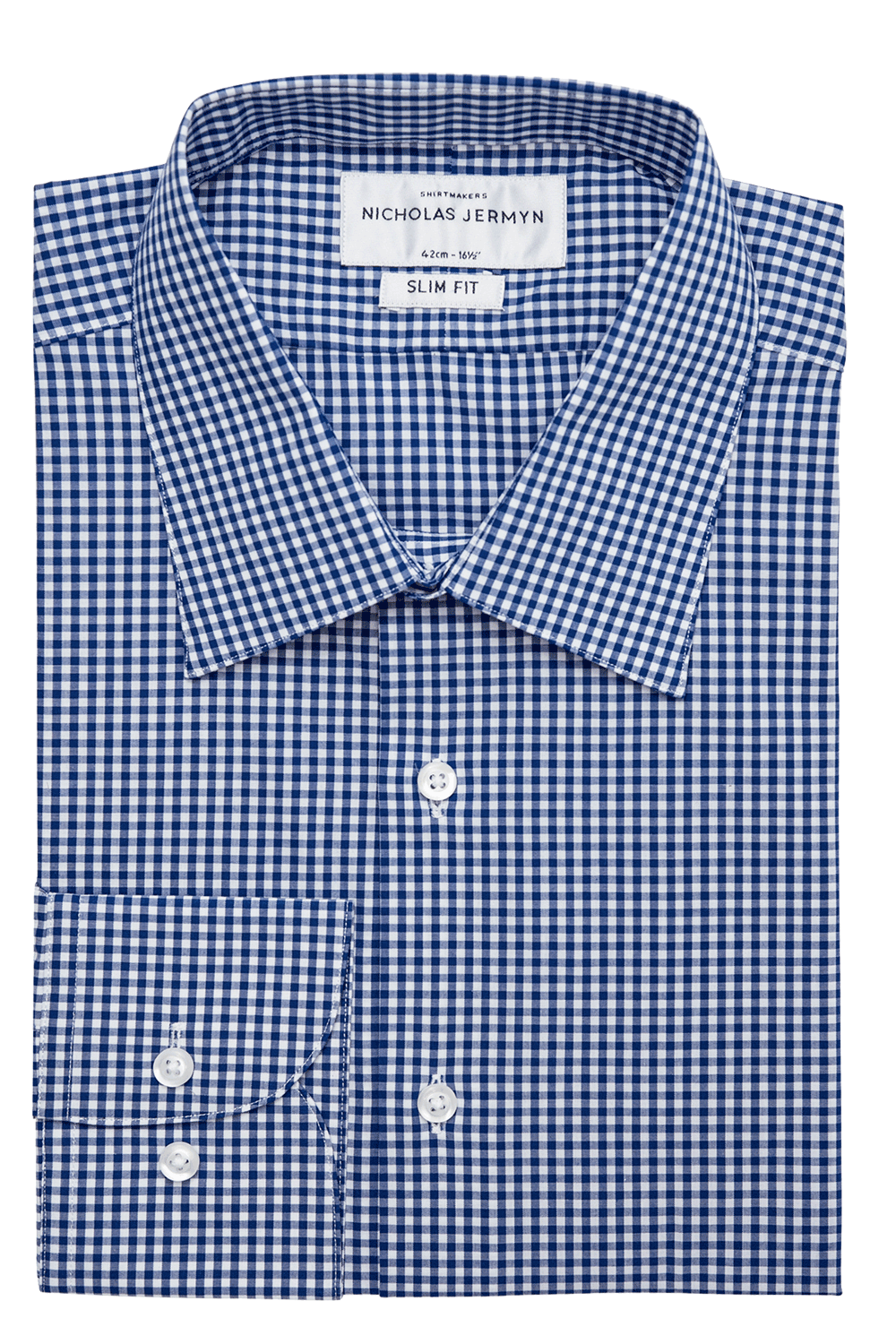 Thompson Check - Slim Fit - Single Cuff
