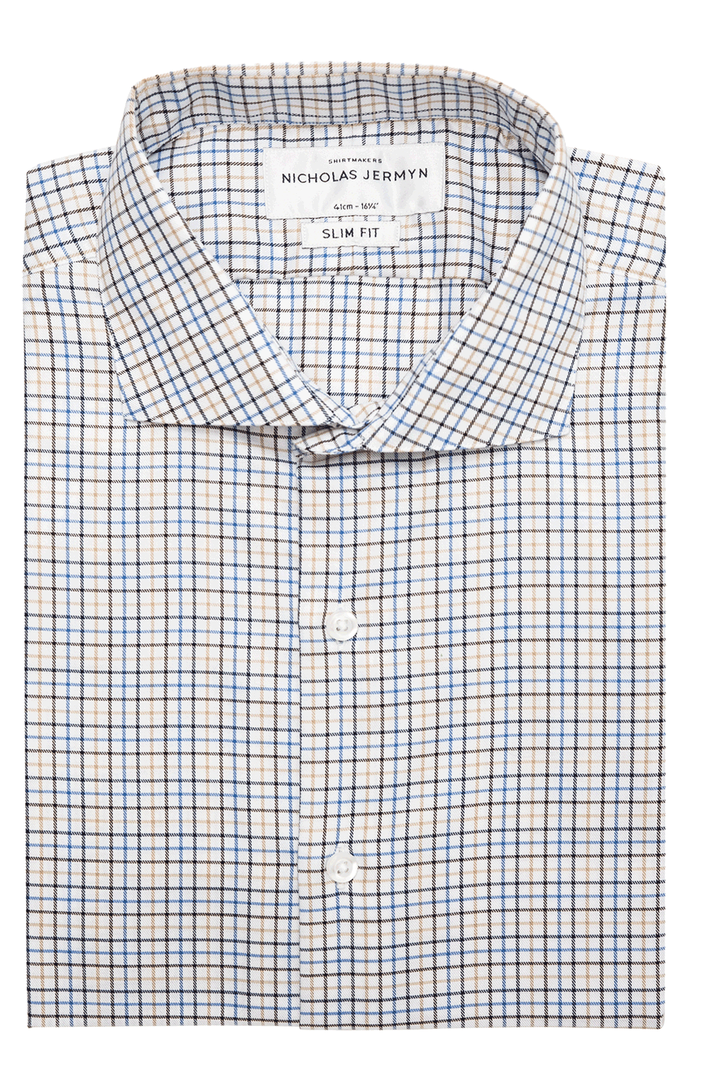 Porter Check - Super Slim - Single Cuff