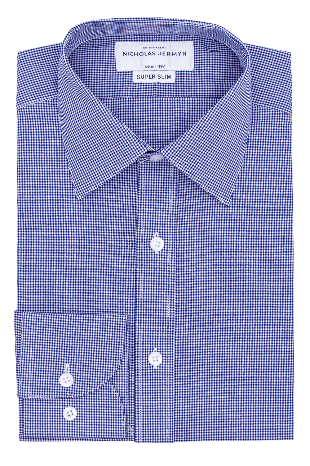 Square Gingham Navy