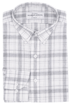 Aoraki Plaid Grey - Slim Fit