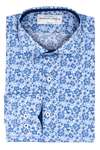 Pompalier Print - Slim Fit - Single Cuff