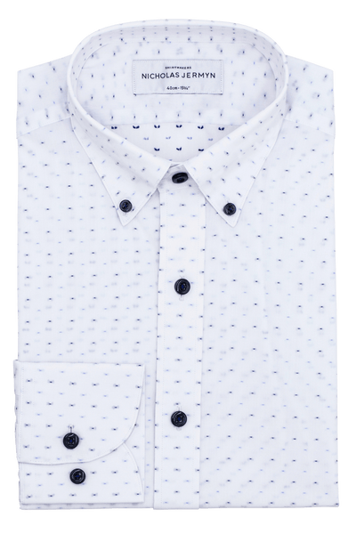 Salo Print - Slim Fit - Single Cuff