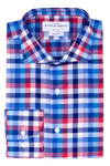Hayes Check - Slim Fit - Single Cuff