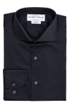 Grierson Black - Slim Fit - Single Cuff