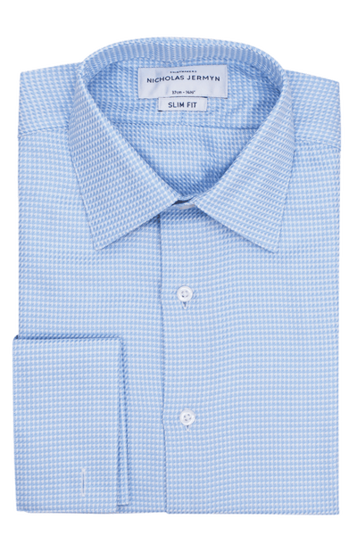 Gramercy Blue - Slim Fit - Double Cuff