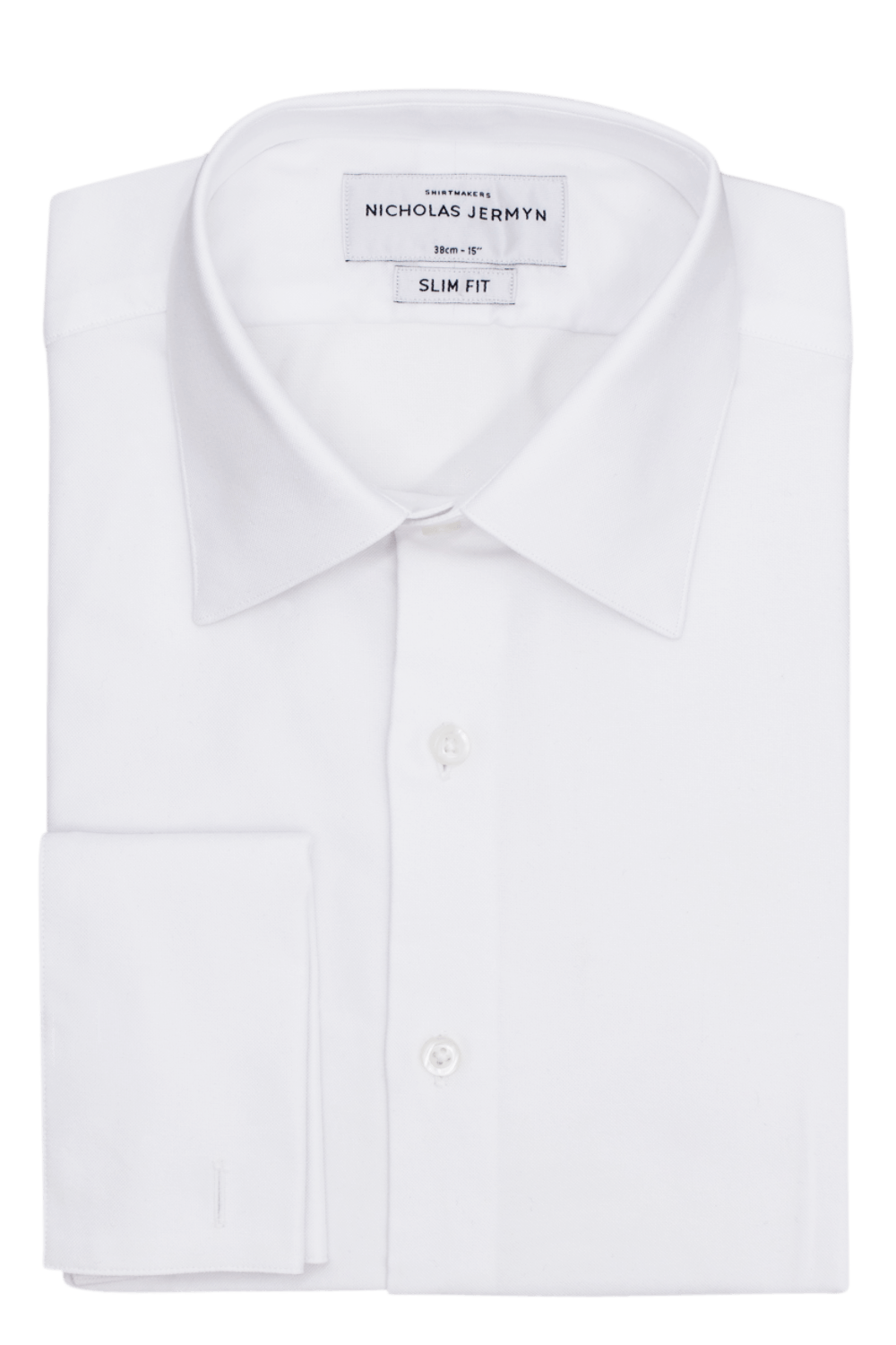 Royal Oxford - Slim Fit - Double Cuff