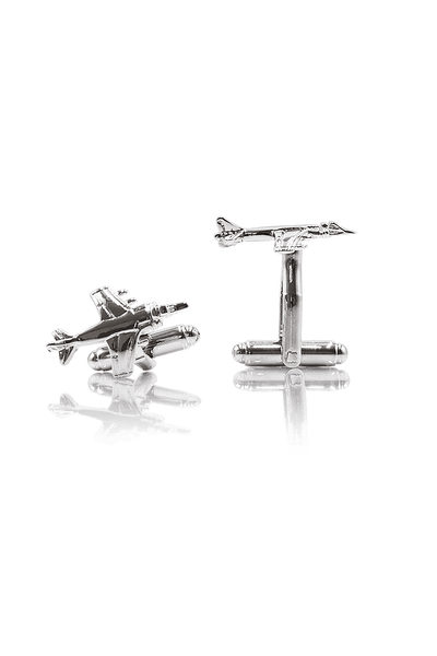 Aviation Cufflinks - Silver