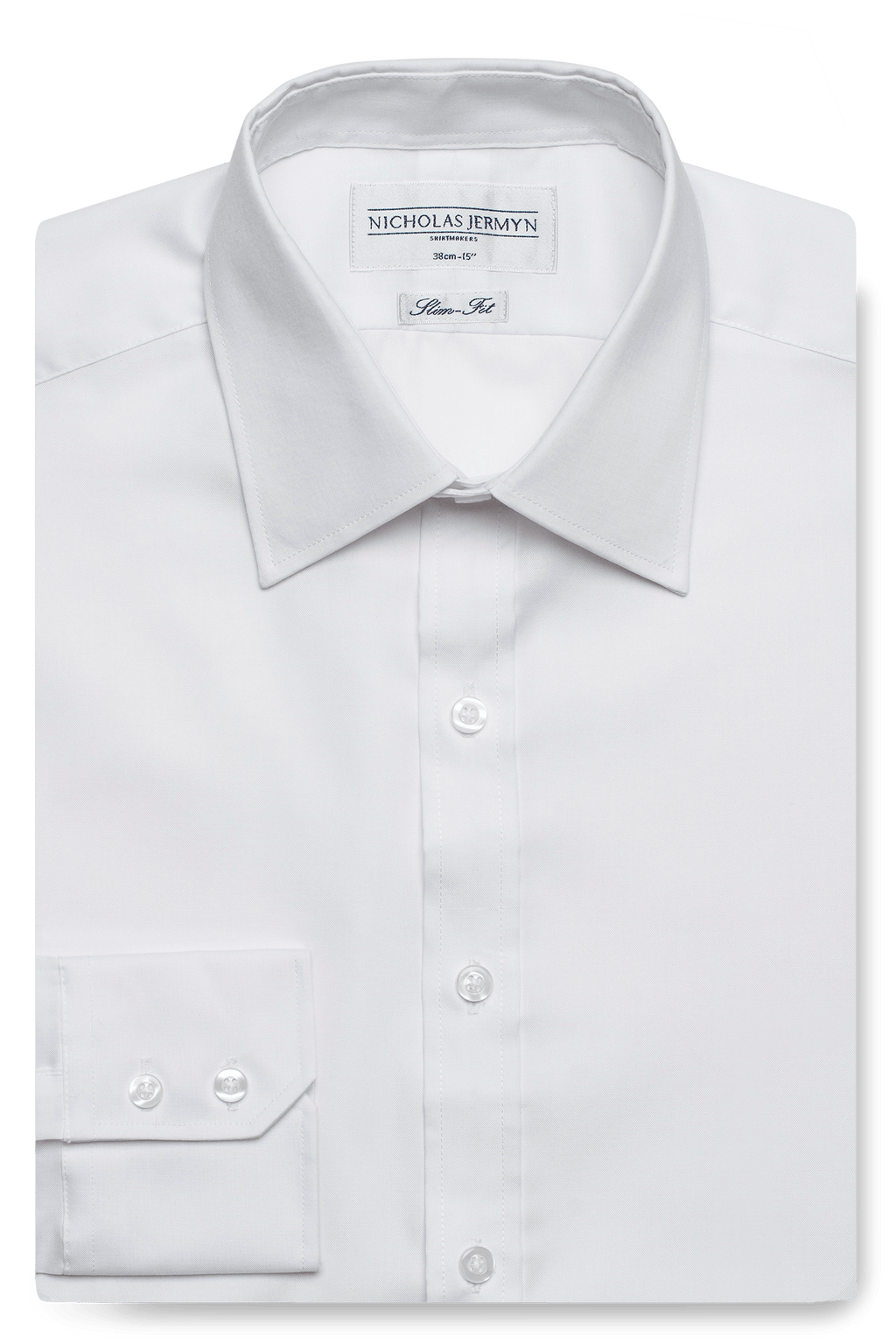 Pinpoint Oxford - Slim Fit - Single Cuff