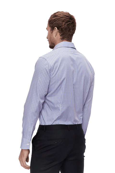 Osborne Check - Super-Slim Fit - Single Cuff