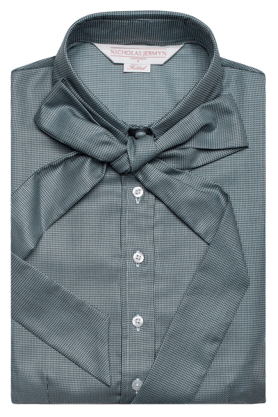 Luxury Diamond Print Shirt - Green