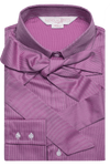 Luxury Diamond Print Shirt - Magenta