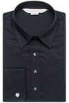Self Print Shirt - Black