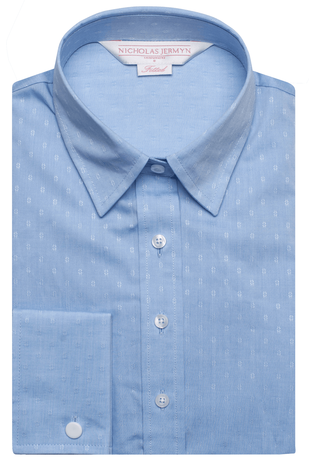 Self Print Shirt - Blue