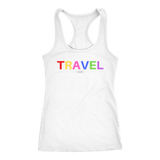 """TRAVEL"" white women's t-shirt"