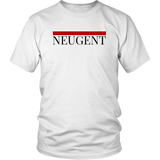 Neugent red top line unisex/mens original white t-shirt