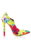"""BLOSSOM"" colorful flower pump"