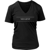 Neugent logo womens original black t-shirt