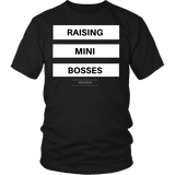 Raising mini bosses unisex/men's original black t-shirt