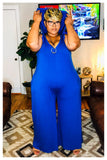 "PLUS SIZE ""SUMMER BREEZE"" jumpsuit"