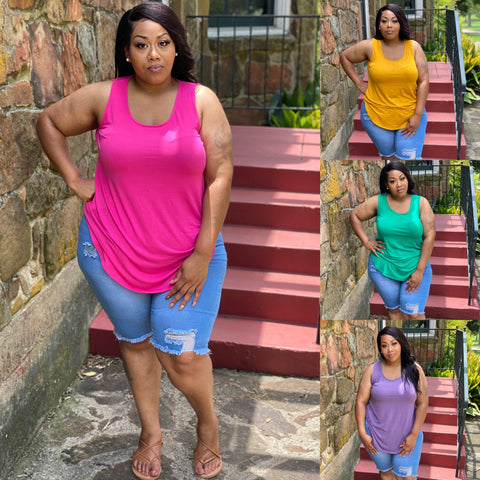 "PLUS SIZE ""PERFECT TANK"""