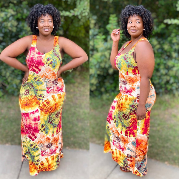 "PLUS SIZE ""UNDER THE SUN"" dress"