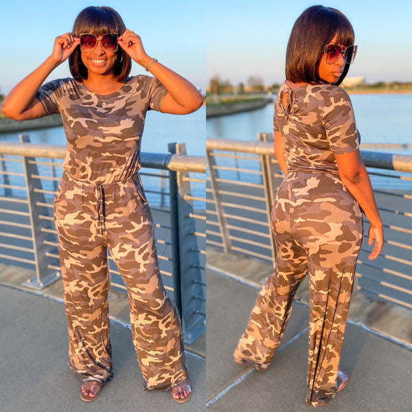 """WAR READY"" jumpsuit"