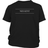 Neugent logo kids original black sizes newborn-youth