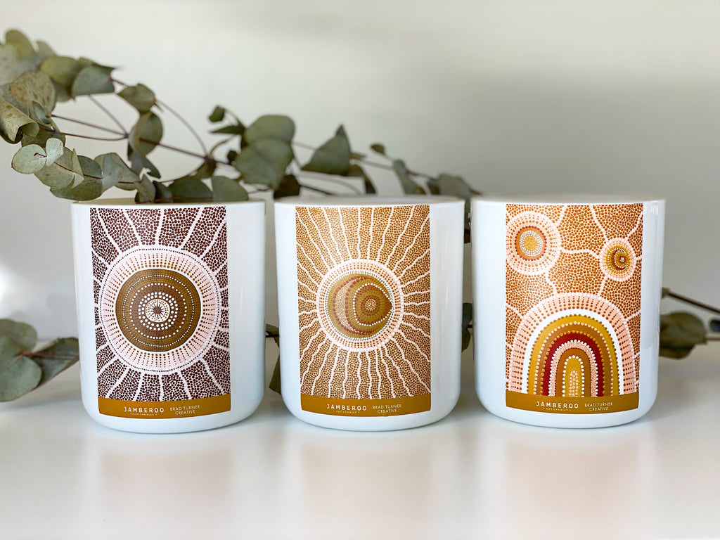 Sun, Moon & Rainbow Artist Series Range By Brad Turner Creative