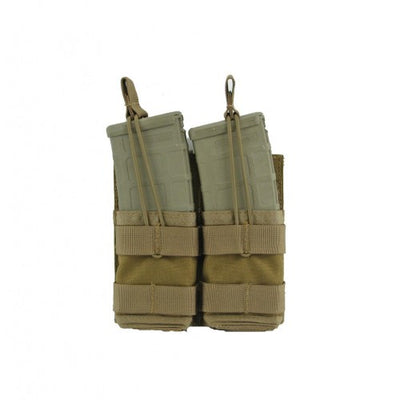 Modular (MOLLE) Rifle Magazine Pouch, Double, Type 2, AR / M4 / M16